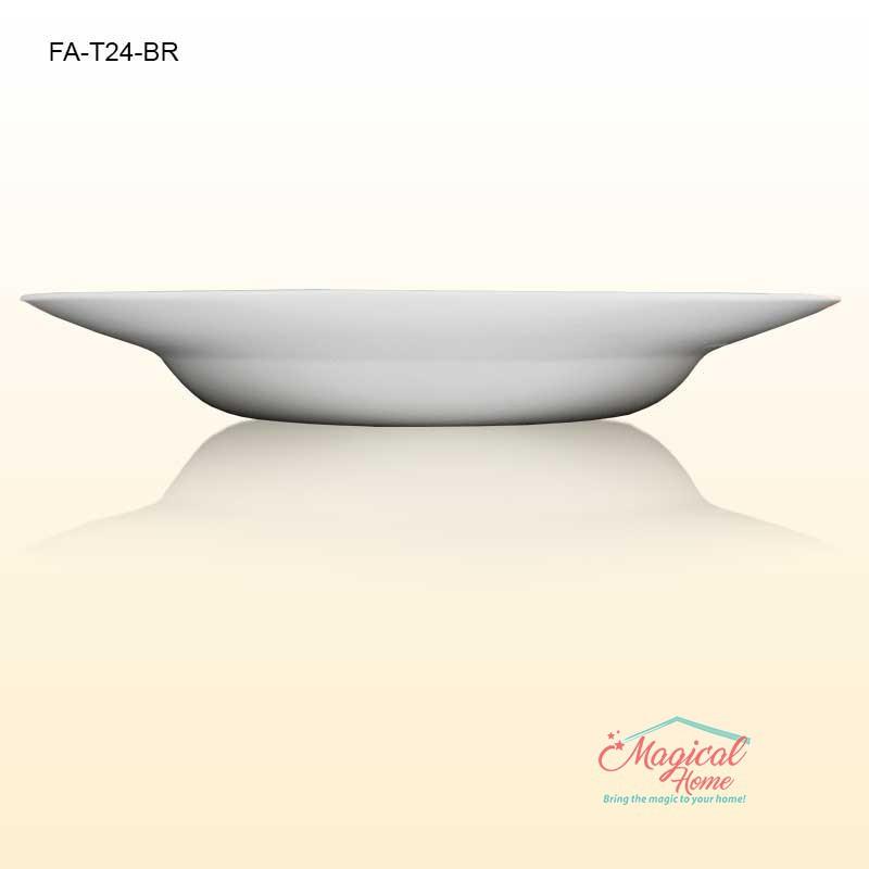 Farfurie adanca opal 24cm TOLEDO Bormioli Rocco