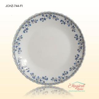 Farfurie intinsa opal 744 decor floral clasic