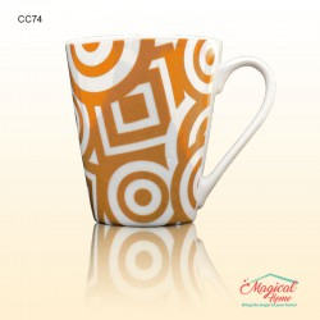 Cana ceramica decor abstract CC74