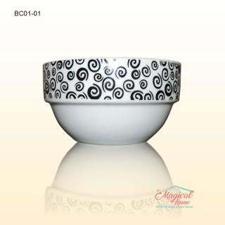 Bol ceramic BC01 decor abstract