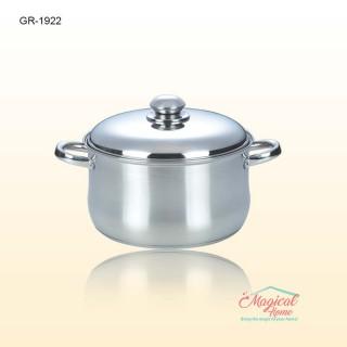 Cratita inox cu capac inox 3.90L GR1922 Grunberg