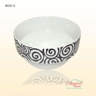 Bol ceramic BC01-2 decor rustic