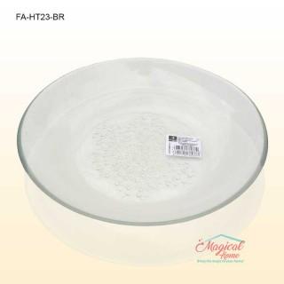 Farfurie adâncă sticlă 23cm HYA TRANSPARENT Bormioli Rocco