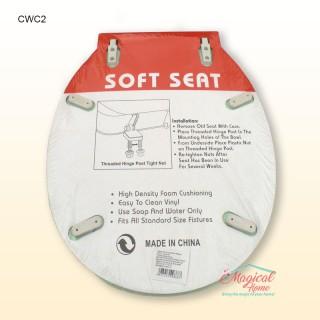 Capac WC buretat, din plastic CWC2
