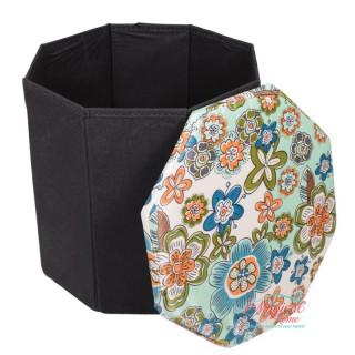 Cutie depozitare tip taburet hexagonala CD1-06