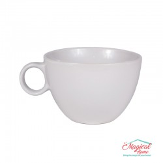 Bol supă, ceramic cu toartă BST-01ALB
