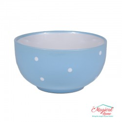Bol supă ceramic BB-223 BLEU decor uni