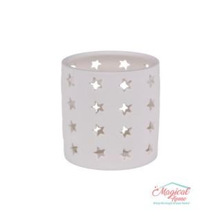 Suport lumânare pastilă, ceramic 110-3