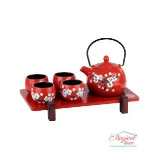 Set servire ceai 6 piese din ceramică MU863