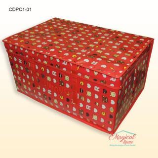 Cutie depozitare haine, decor copii, 60x40x30cm CDPC1-01