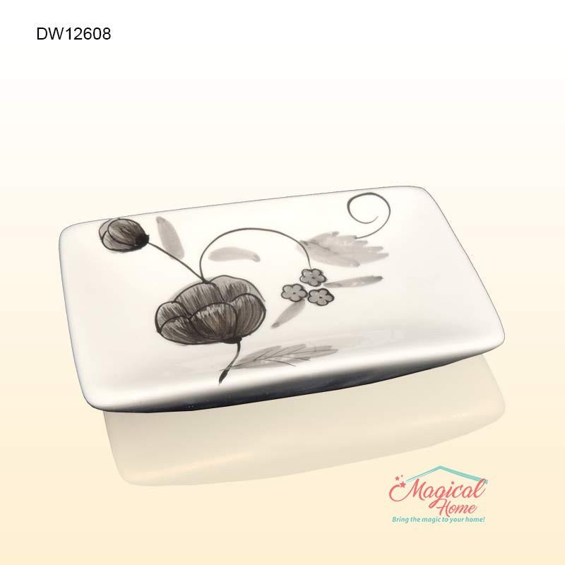 Set ceramic pentru baie DW12698 savoniera sapun solid