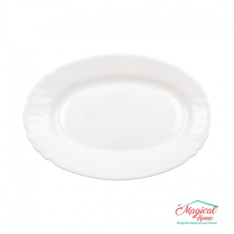 Platou opal oval 15x22cm EBRO Bormioli Rocco