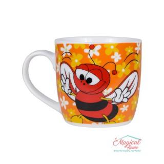 Cană ceramică decor copii P0014-04