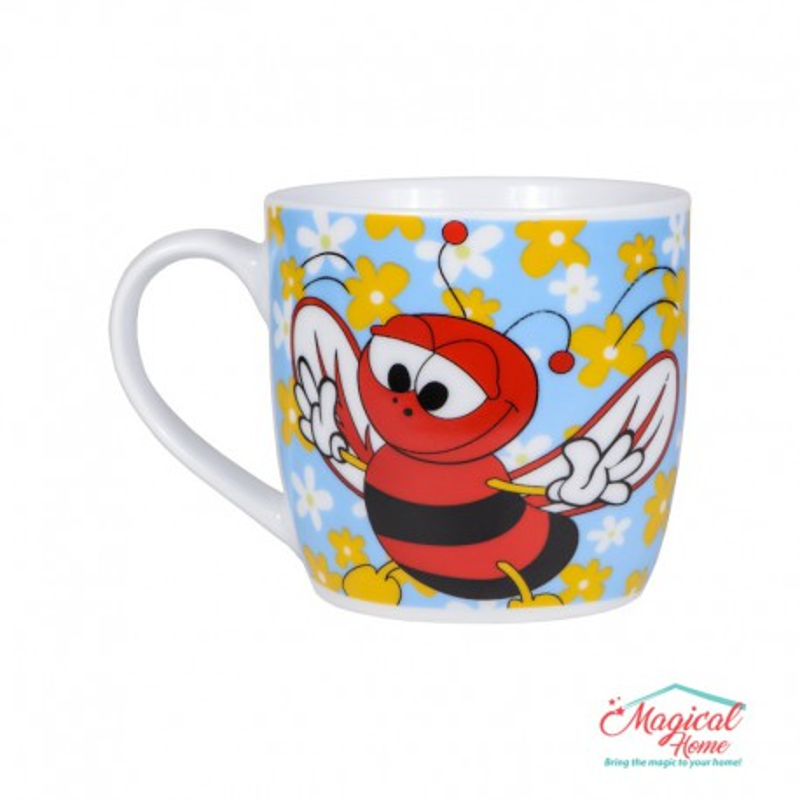 Cană ceramică decor copii P0014-02