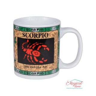 Cană ceramică Horoscop Multicolora A18-Scorpion