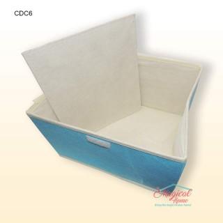 Cutie depozitare CDC6 26x20x16cm decor uni - detalii fund cutie