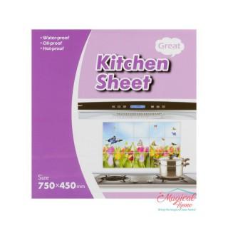 Folie protecție perete bucătărie 75x45cm 00650-05