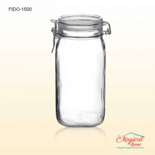 Borcan sticlă ermetic 1,5L Fido Bormioli Rocco