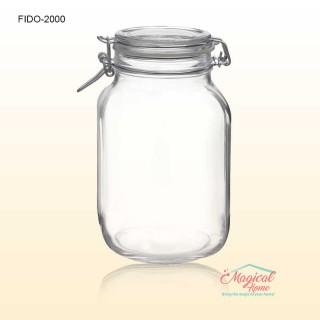 Borcan sticla inchidere ermetica 2,0L Fido Bormioli Rocco