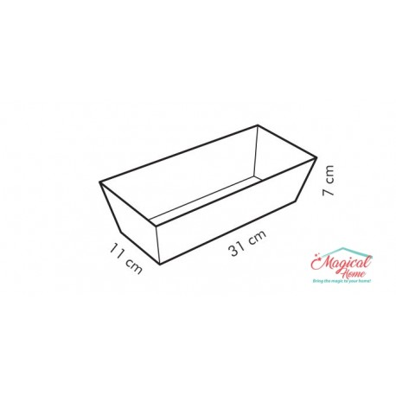 Formă pentru copt cozonac 31x11 cm Tescoma