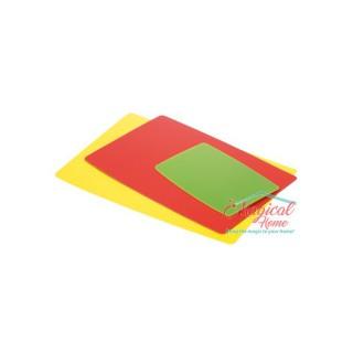 Tocător plastic flexibil 3 bucăţi Tescoma