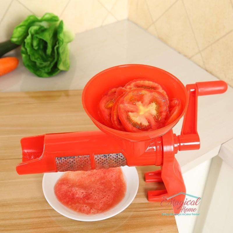 Mașină manuala pentru stors rosii