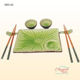 Set ceramică mâncare chinezească 2 persoane