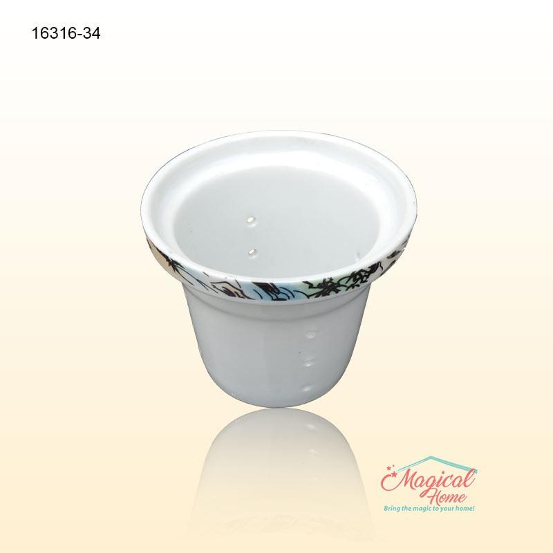 Set ceai ceramica 1 persoana cu 3 piese 16316-34