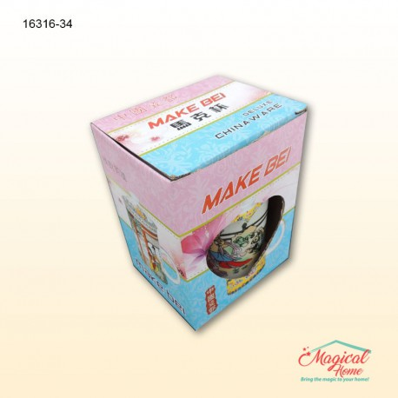 Set ceai ceramica 1 persoana cu 3 piese 16316-34 - Mod ambalare