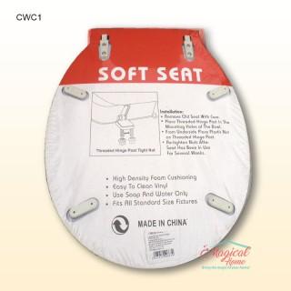 Capac WC buretat, din plastic CWC1