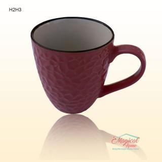 Cană ceramică decor uni H2H3-1 violet