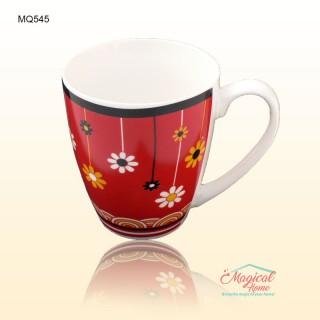 Cană ceramică decor floral MQ545-01